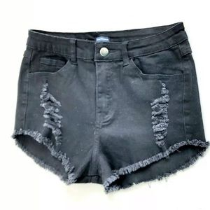 Brandy Melville Cut Off Distressed